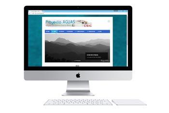 Web del proyecto Aguas, del investigador Antonio Castillo