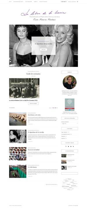 Captura web laletradelaciencia.es