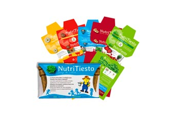Packaging de Nutritiesto