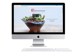 Web del ceramista Jose Ignacio Luzón (luzonyortegapotsdesign.com)
