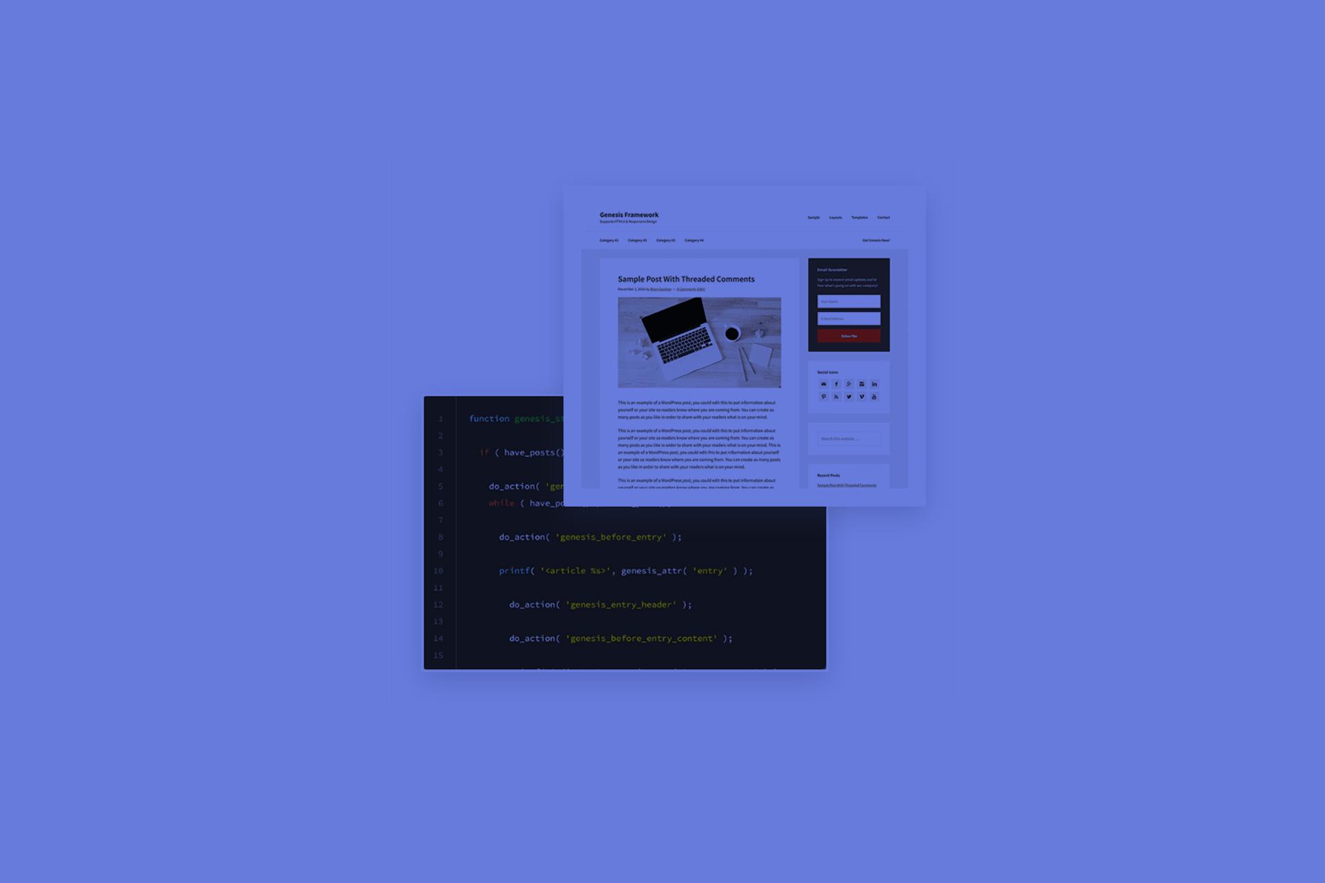 Diseño web con Genesis Framework