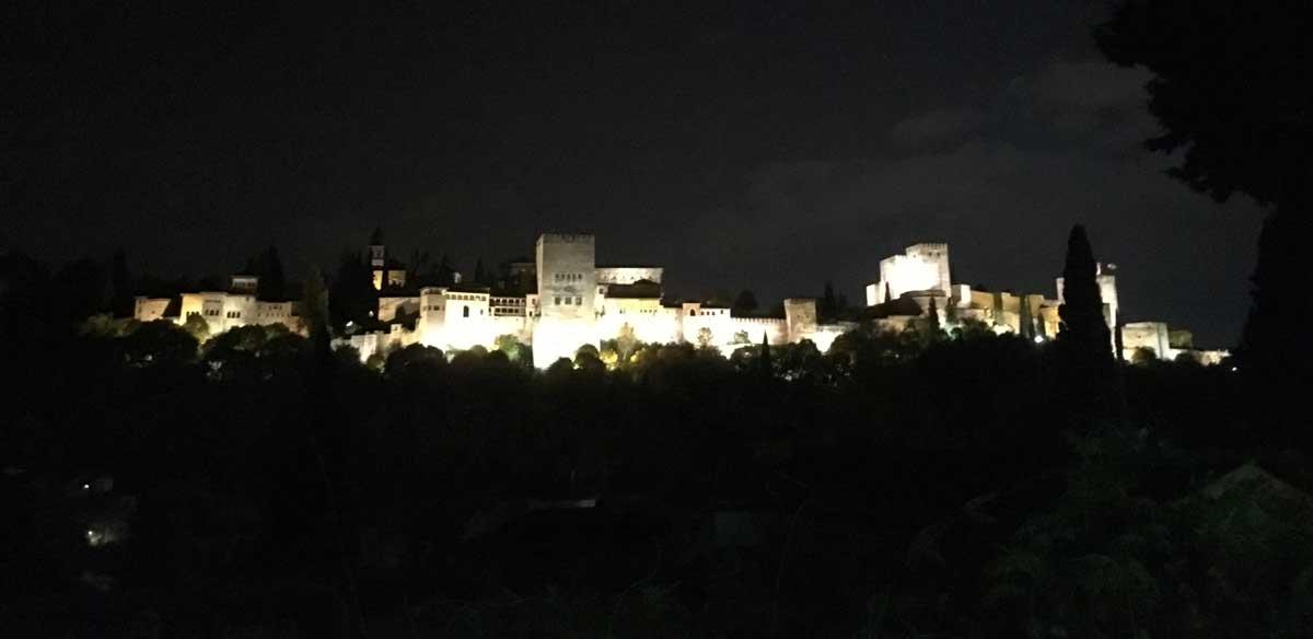 Alhambra desde el Cármen de la Victoria