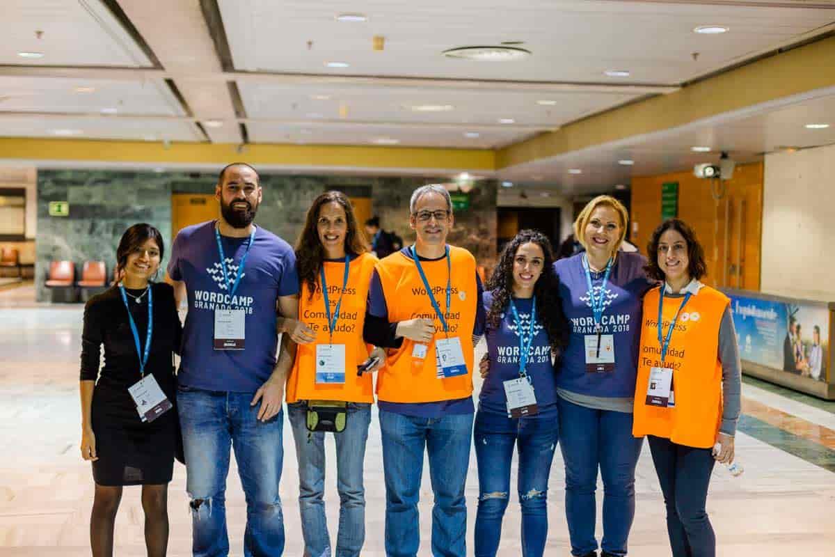 Equipo de comunicación de WordCamp Granada 2018