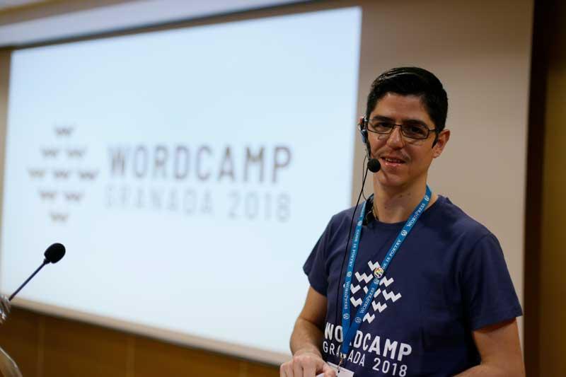 Fran Torres, líder de WordCamp Granada 2018
