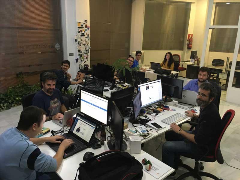 La organización de WordCamp Granada echándome una mano