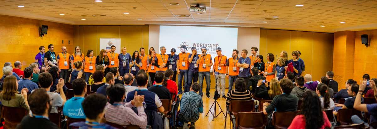 Organizadores y voluntarios de la WCGranada 2018