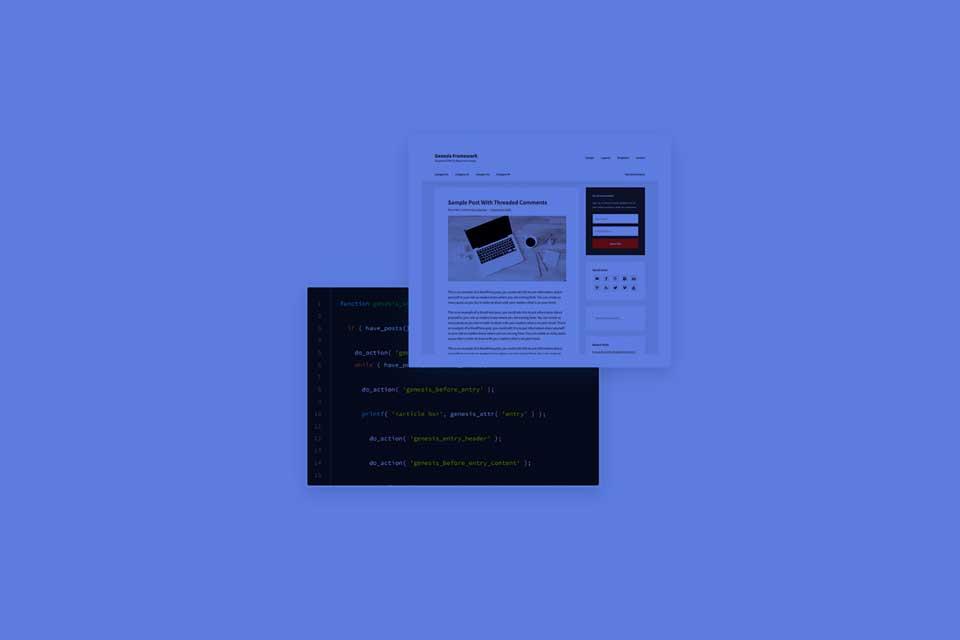 Diseño web con WordPress y Genesis Framework