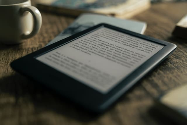 Imagen de un Kindle
